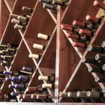 Caps Restaurant Wine Rack