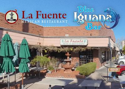 La FuenteMexican Restaurant & Blue Iguana Building Exterior